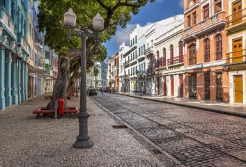Bom Jesus Street in Recife, Pernambuco, Brazil