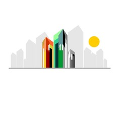 logo, real estate, buildings, architecture, construction