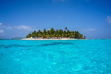 Island in Caribbean