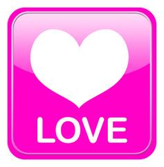 Liebe im Glasbutton