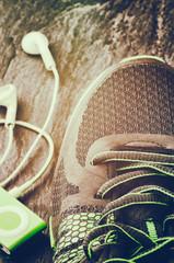 Sneakers closeup