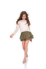 young child fashion model