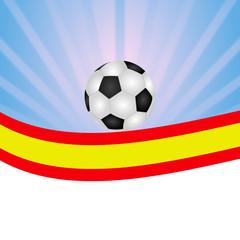 Bandera de fútbol España