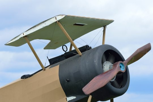 Part of world war one plane with no wings