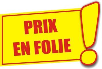 """Résultat de recherche d'images pour """"PRIX DE FOLIE"""""""