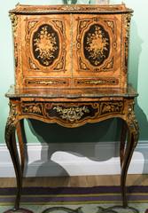 Antique beautiful wooden bureau