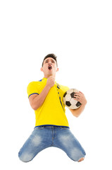 Ecuador soccer fan