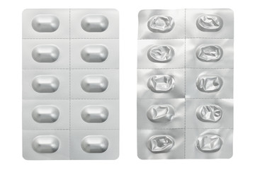 Medicine In Blister Pack