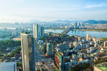 Papiers peints Seoul Seoul Cityscape