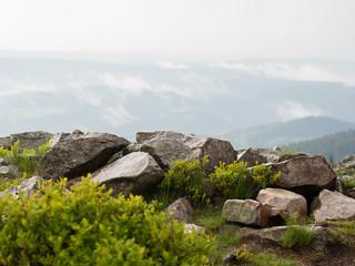 Naturschauspiel in den Bergen - Gewitter im Harz