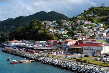 St George's harbour Grenada