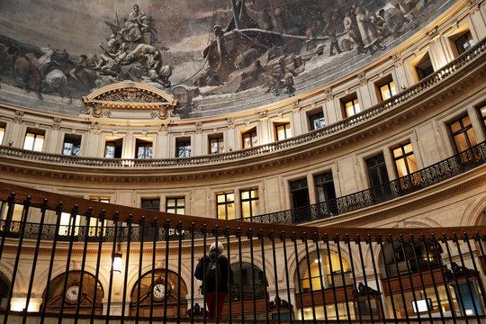La bourse de commerce à Paris