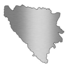 High detailed vector map - Bosnia & Herzegovina.