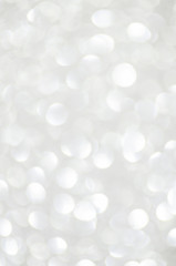 silver lights abstract background