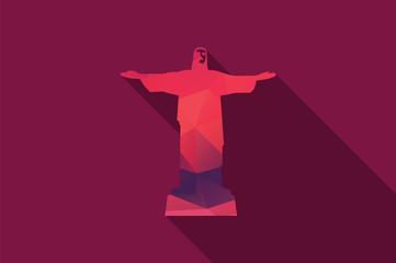 World landmark, Christ The Redeemer, Rio De Janeiro, Brazil