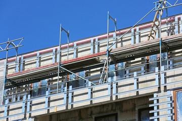 Schienensystem für Fassadenverkleidung