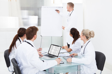 Doctor Giving Presentation To Colleagues