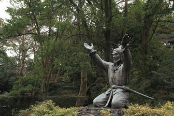 出雲大社のムスビの御神像