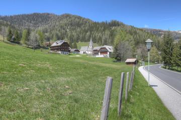Österreich Kärnten Bad Kleinkirchheim St. Oswald 01
