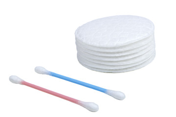 Cotton swabs and sticks