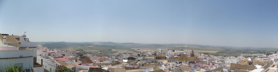 Panoramic of Medina Sidonia