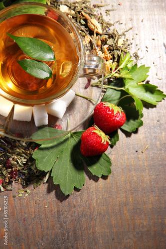 Травы и фрукты в чай