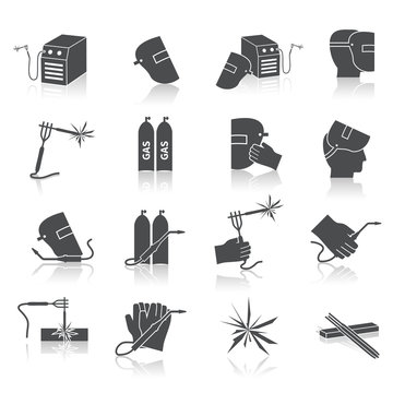 Welder Icons Set