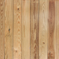 Wooden planks in a row.