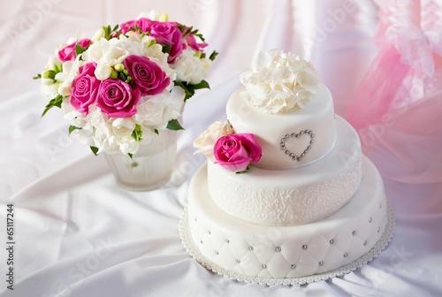 Свадебный торт  № 1408146  скачать