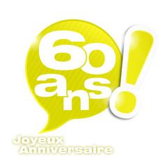 Photos illustrations et vid os de 60 ans - Animation anniversaire 60 ans femme ...