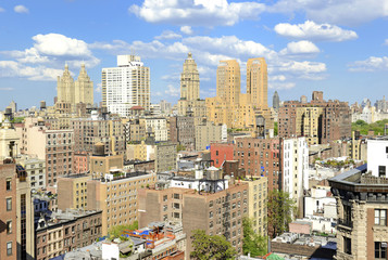 Upper West Side Apartment Buildings in Manhattan, New York