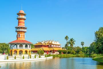 Bang Pa-In Royal Palace, Ayutthaya, Thailand.