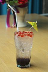 blueberry italian soda