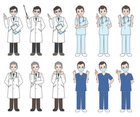 医者 / 看護師