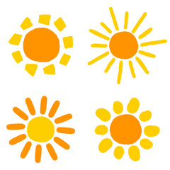 Sun drawings
