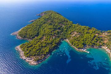 Island Kolocep at Elaphites near Dubrovnik