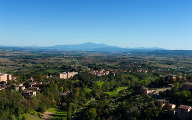 View from Siena tower