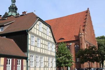 St. Marien-Straße in Wittstock