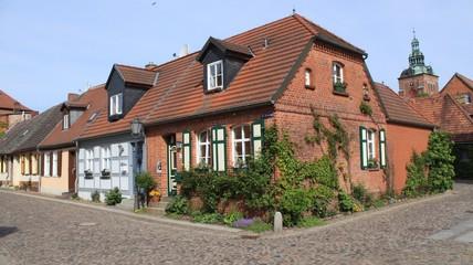 Kleiner Graben in Wittstock`s Altstadt