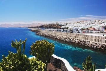 View of the Puerto del Carmen, Lanzarote