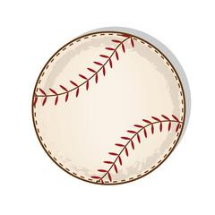 aged vintage baseball