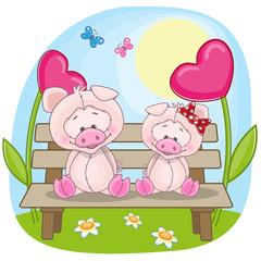 Lovers pigs