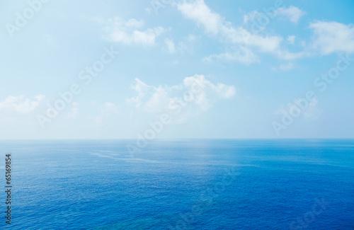 Wall mural 沖縄の青空と海