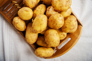 potatoes raw