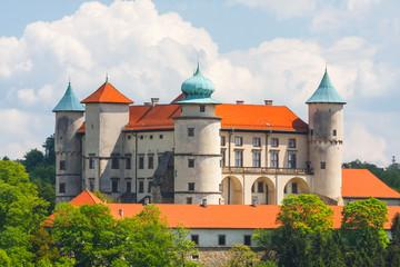 Obraz View of Nowy Wisnicz castle, Poland - fototapety do salonu