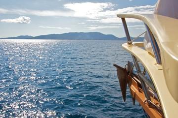Boat to La Digue