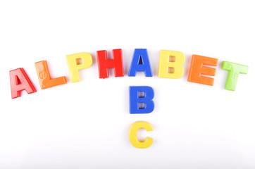 plastic alphabet