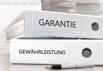 Garantie und Gewährleistung Akten