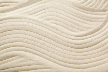 Sandy beach background for summer. Sand texture.