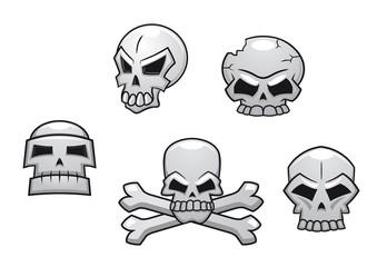 Halloween or Pirate themed skull set